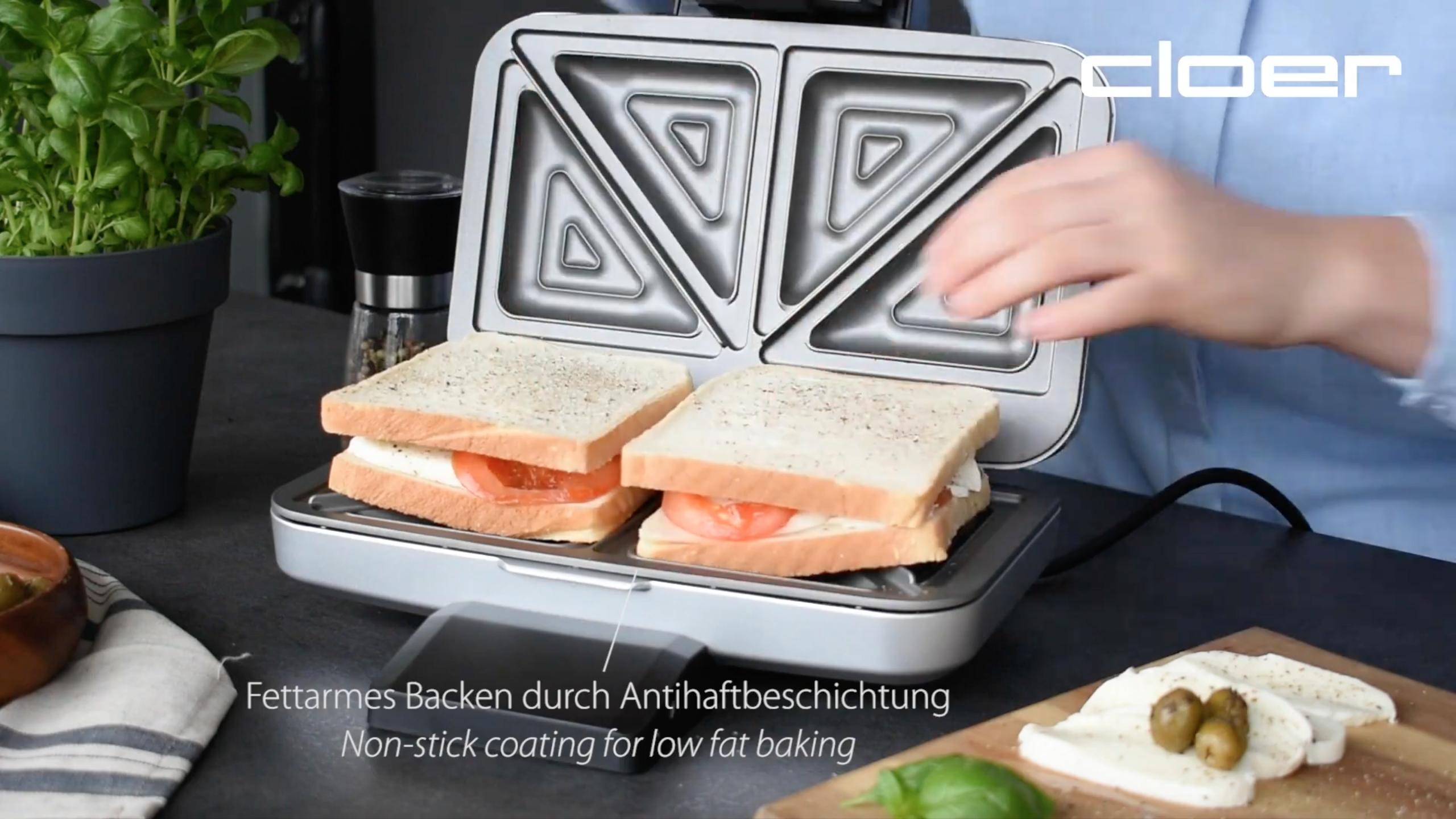 Cloer 6259 Sandwichmaker