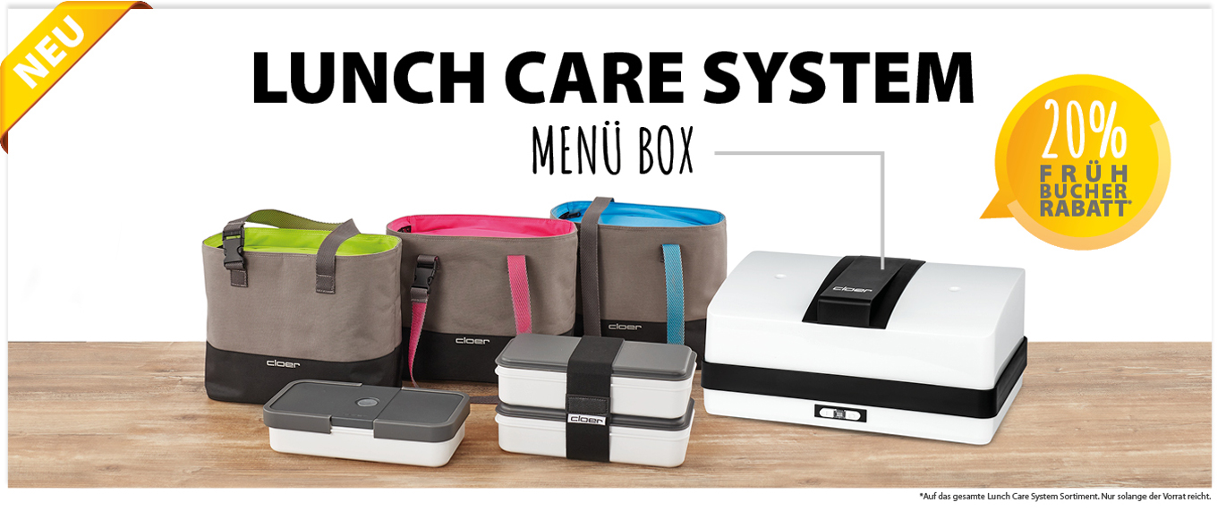 Lunch Care System - Menü Box
